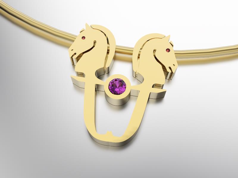 Gouden Collier met Almandite-1 1000x750 max